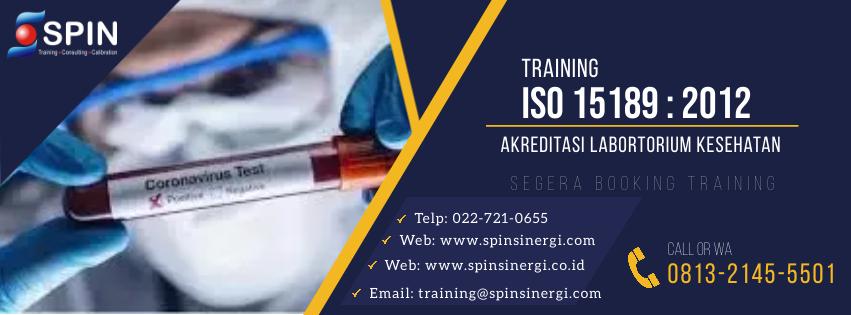 Training Implementasi ISO 15189:2012