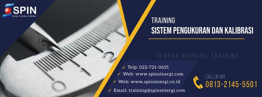 Training Sistem Pengukuran dan Kalibrasi