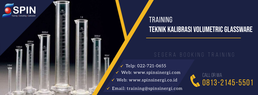 Training Teknik Kalibrasi Volumetric Glassware